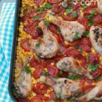 Easy Chicken with Tomatoes and Corn