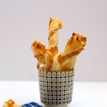 Cheesy Puff Pastry Twists