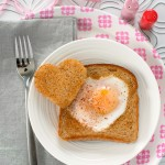 Valentine Egg in a Hole