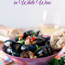 Mussels in White Wine Audrey's