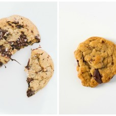 Salted Chocolate Chip Cookies - Be My Guest Audrey's