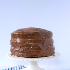3 layer banana cake with dulce di lece and ganache Audrey's