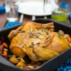 Roast Chicken Audrey's
