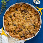Savoury Bread Pudding with Mushrooms and Thyme