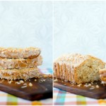 Coconut Loaf with White Chocolate