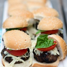 Basil Pesto Beef Sliders Giulia Doyle