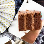 Devil's Food Cake with Chocolate Mascarpone Cream